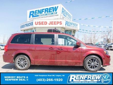 2019 Dodge Grand Caravan GT, Heated Seats, Remote Start, Bluetooth, Backup Minivan/Van