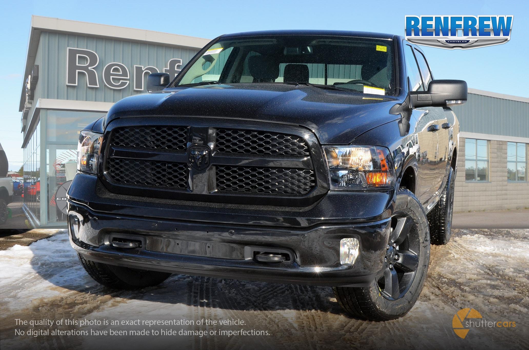 2018 Ram 1500 Big Horn Camion cabine Crew