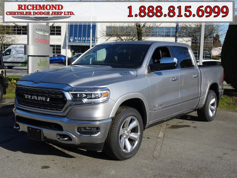 Featured New  2019 Ram All-New 1500 Limited Truck Crew Cab for sale in Richmond, BC, near Vancouver