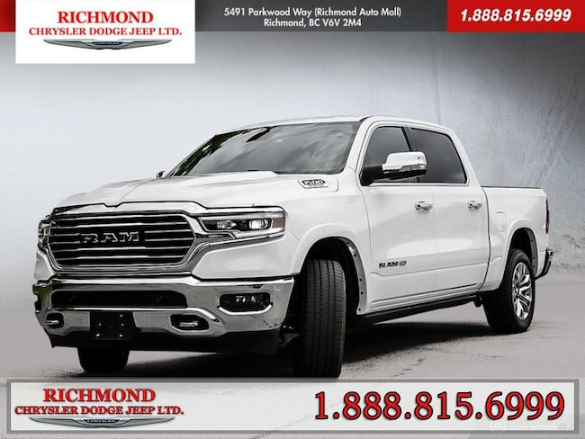 New 2020 Ram 1500 Longhorn Truck Crew Cab For Sale in Richmond, BC