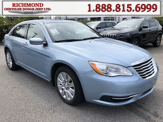 Used 2013 Chrysler 200 LX Sedan for sale in Richmond, BC, near Vancouver