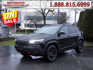 New 2020 Jeep Cherokee Trailhawk Elite SUV 20558697 in Richmond, BC
