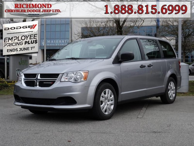 New 2020 Dodge Grand Caravan Canada Value Package Van For Sale in Richmond, BC