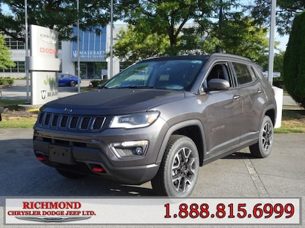 Featured New  2019 Jeep Compass Trailhawk SUV for sale in Richmond, BC, near Vancouver
