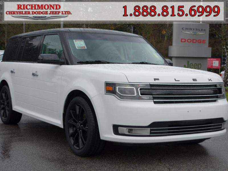 Featured Used 2018 Ford Flex Limited SUV for sale in Richmond, BC, near Vancouver