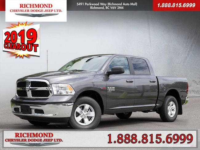 New 2019 Ram 1500 Classic SLT Truck Crew Cab For Sale in Richmond, BC
