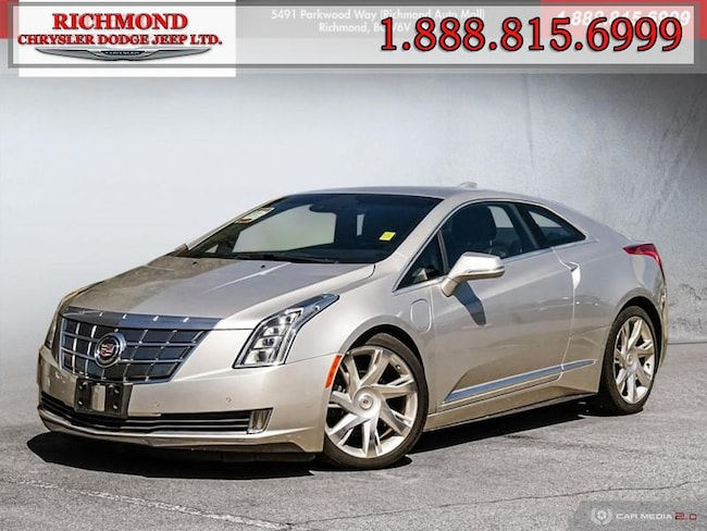 Used 2014 CADILLAC ELR Base Coupe in Richmond, BC