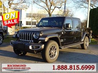 New 2020 Jeep Gladiator Overland Truck Crew Cab 204G0146368 in Richmond, BC