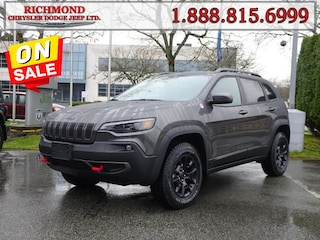 New 2020 Jeep Cherokee Trailhawk SUV 20545933 in Richmond, BC