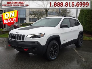New 2020 Jeep Cherokee Trailhawk SUV 207E0545932 in Richmond, BC