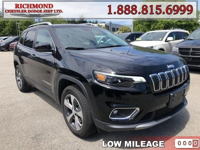 Used 2019 Jeep New Cherokee Limited 4x4 SUV in Richmond, BC