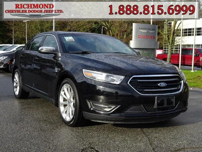 Used 2017 Ford Taurus Limited Sedan in Richmond, BC