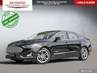 Used 2019 Ford Fusion Hybrid Titanium Sedan S190349 in Richmond, BC, near Vancouver