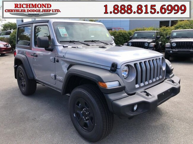 Used 2019 Jeep All-New Wrangler Sport 4x4 SUV in Richmond, BC