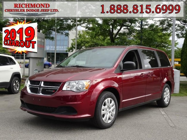 New 2019 Dodge Grand Caravan SXT Van For Sale in Richmond, BC
