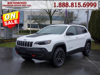 New 2020 Jeep Cherokee Trailhawk Elite SUV 20558695 in Richmond, BC