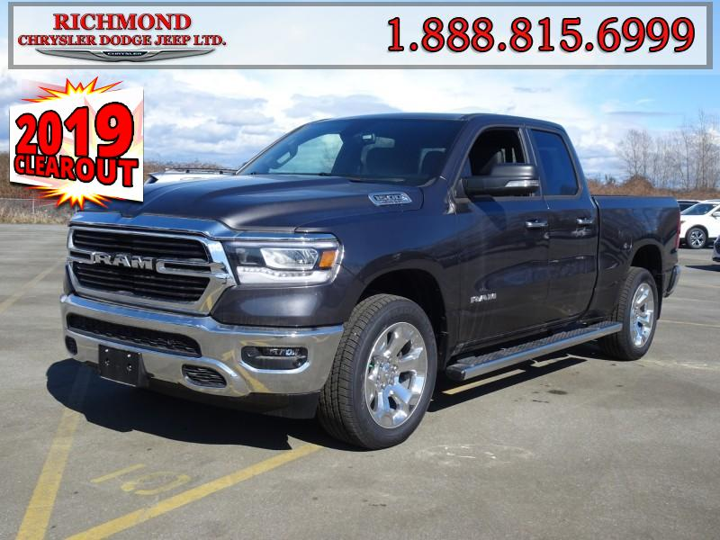 Featured New  2019 Ram All-New 1500 Big Horn Truck Quad Cab for sale in Richmond, BC, near Vancouver