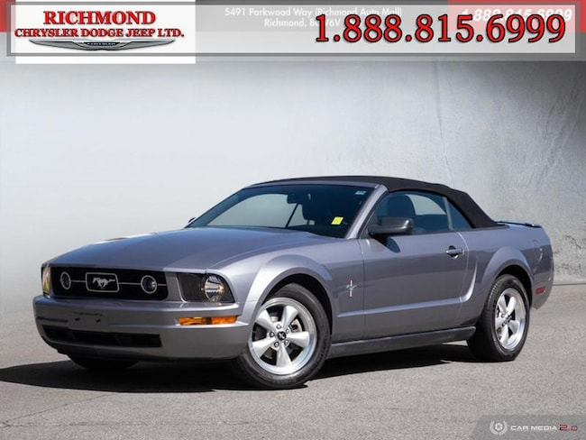 Used 2007 Ford Mustang V6 Convertible in Richmond, BC