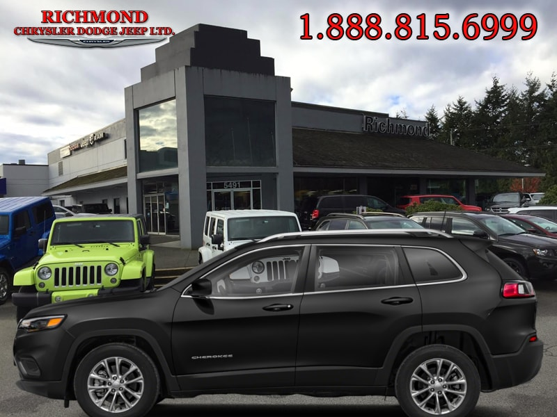 Featured Used 2019 Jeep New Cherokee North 4x4 SUV for sale in Richmond, BC, near Vancouver