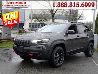 New 2020 Jeep Cherokee Trailhawk Elite SUV 20558699 in Richmond, BC