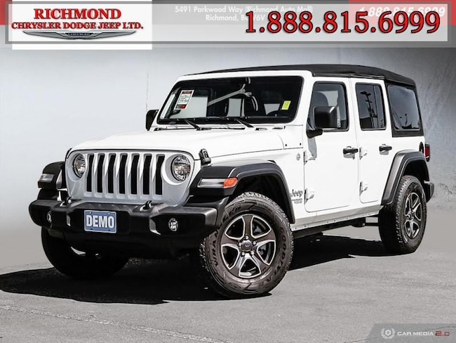 Used 2018 Jeep Wrangler Unlimited Sport SUV in Richmond, BC