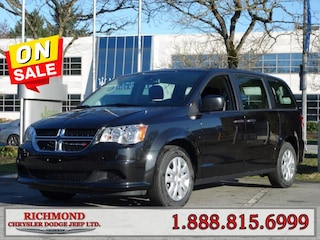New 2020 Dodge Grand Caravan Canada Value Package Van in Richmond, BC near Vancouver