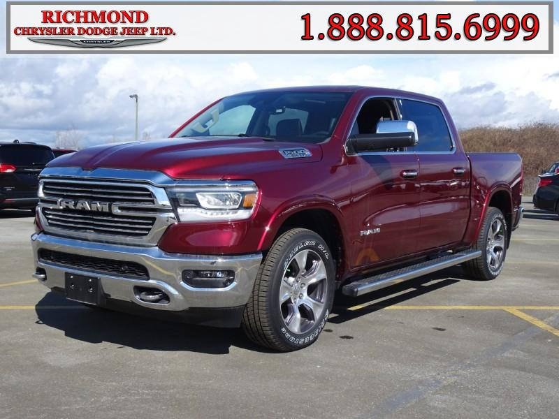 Featured New  2019 Ram All-New 1500 Laramie Truck Crew Cab for sale in Richmond, BC, near Vancouver