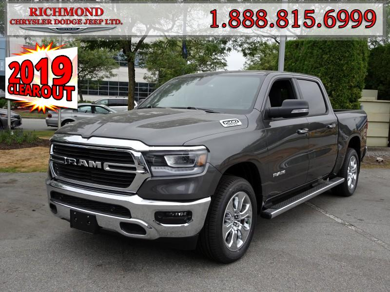 Featured New  2019 Ram All-New 1500 Big Horn Truck Crew Cab for sale in Richmond, BC, near Vancouver