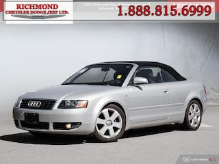 Used 2006 Audi A4 1.8T (Multitronic) Convertible for sale in Richmond, BC, near Vancouver