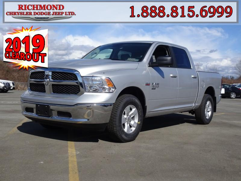 Featured New  2019 Ram 1500 Classic SLT Truck Crew Cab for sale in Richmond, BC, near Vancouver