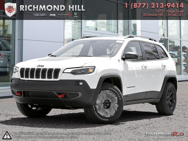New 2019 Jeep New Cherokee Trailhawk Elite SUV For Sale/Lease Richmond Hill, ON