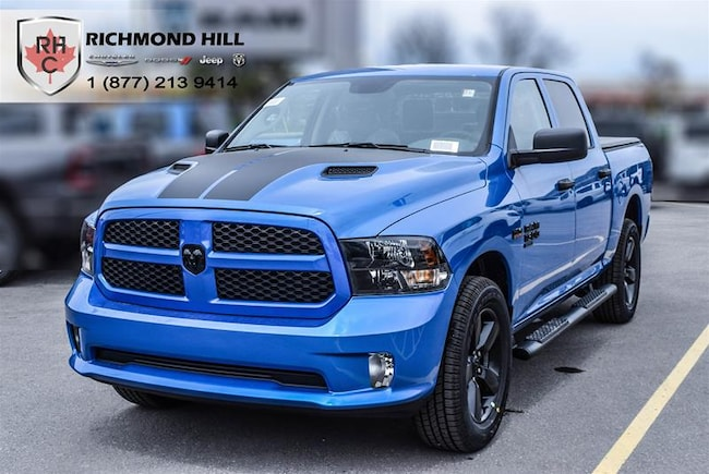 New 2019 Ram 1500 Classic Express Hydro Blue Truck Crew Cab For Sale/Lease Richmond Hill, ON