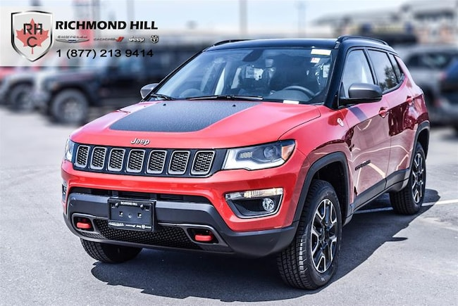 New 2019 Jeep Compass Trailhawk SUV For Sale/Lease Richmond Hill, ON