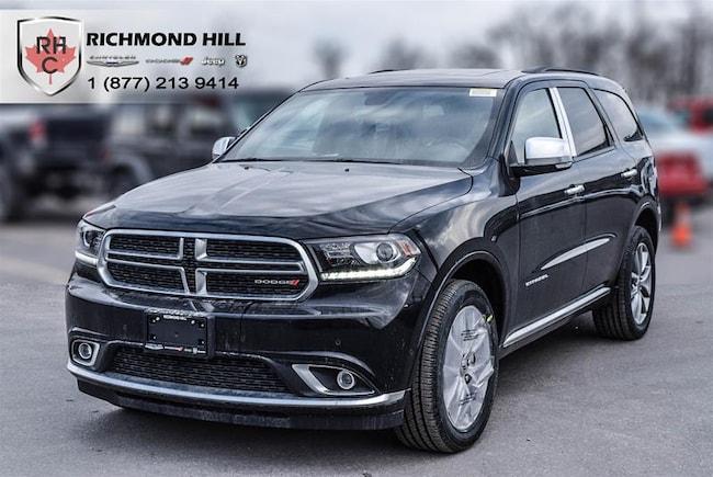 New 2019 Dodge Durango Citadel SUV For Sale/Lease Richmond Hill, ON