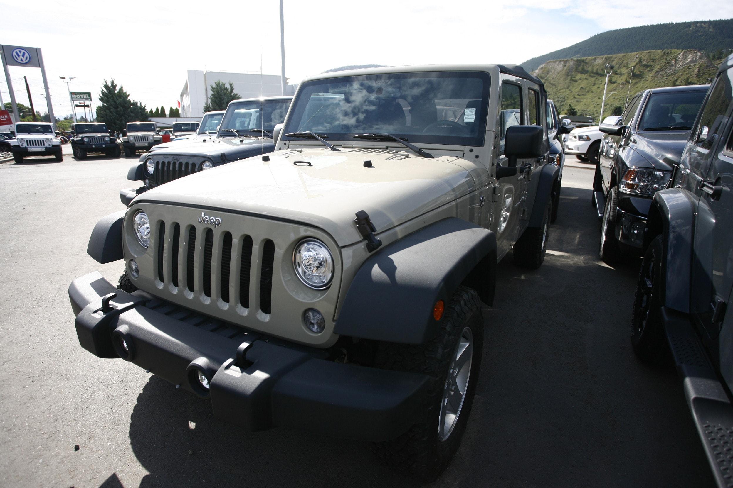 2018 Jeep Wrangler JK Unlimited Sport S SUV