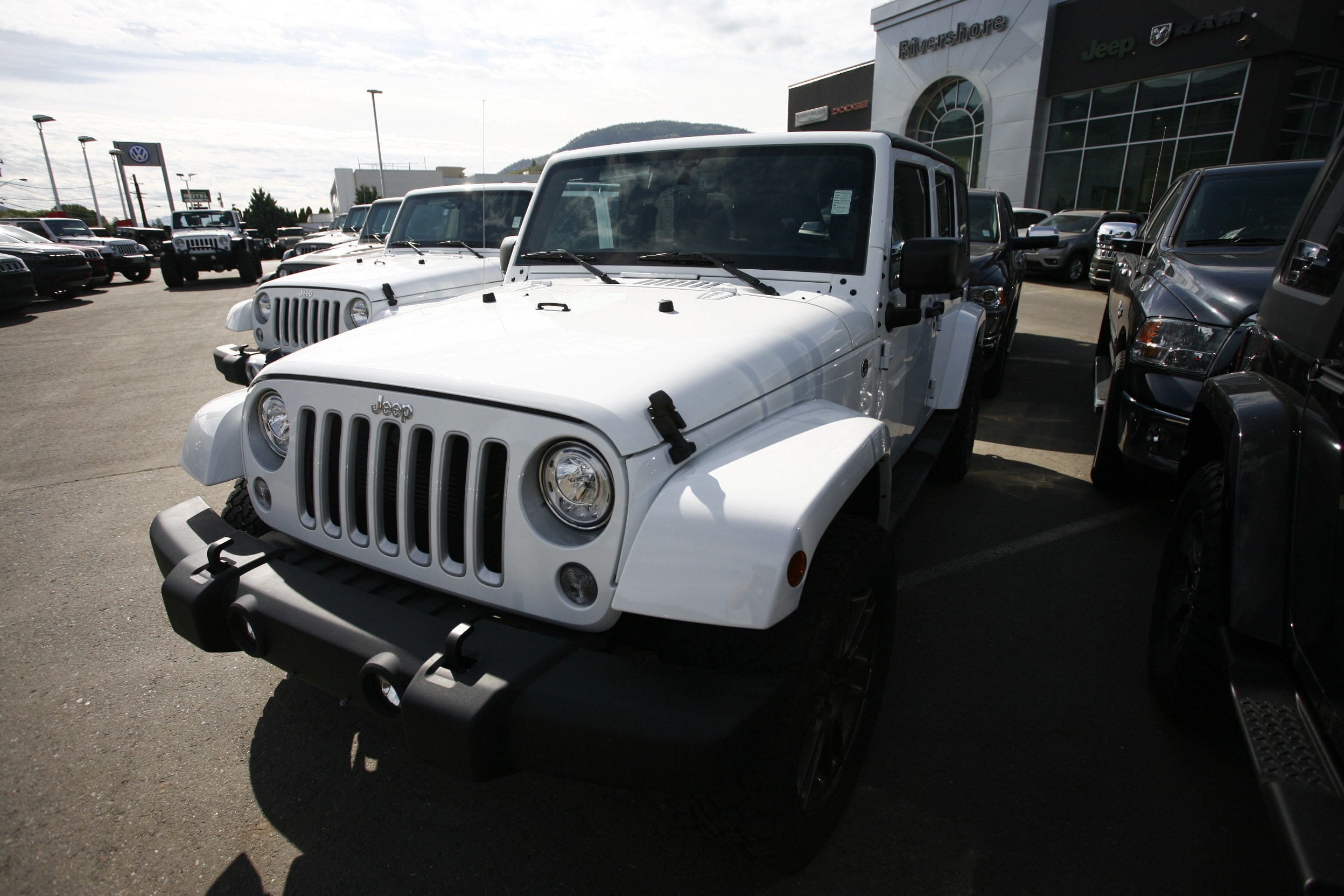 2018 Jeep Wrangler JK Unlimited Sahara VUS
