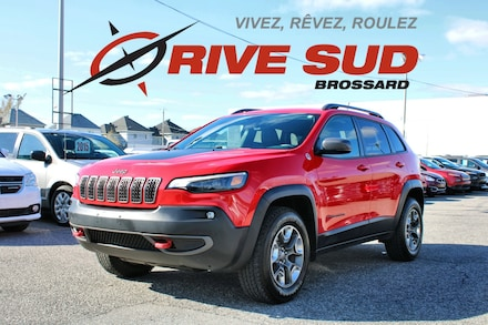 2019 Jeep Cherokee TRAILHAWK 4X4 V6 HITCH GPS VUS