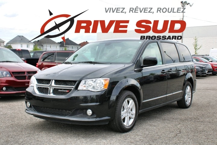 2019 Dodge  Grand Caravan CREW PLUS *CUIR*DVD*GPS*