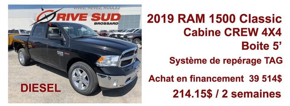 RAM 1500 Classic Diesel  2019