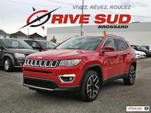2019 Jeep Compass Limited 4X4 *Toit Pano*GPS*Cuir* Véhicule utilitaire