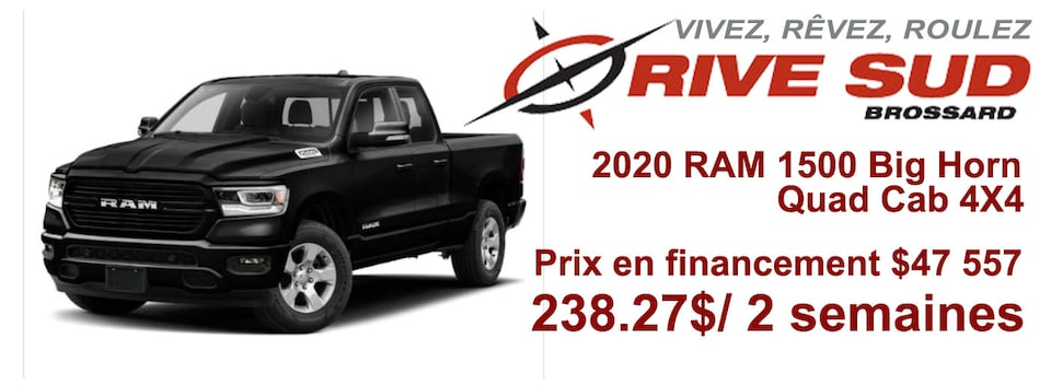 RAM 1500 Big Horn 2020