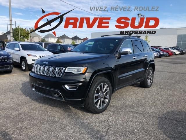 2018 Jeep  Grand Cherokee OVERLAND *CUIR*TOIT PANO*GPS*
