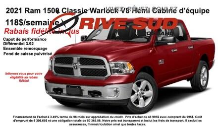 2021 Ram 1500 Classic Warlock 4x4 Crew Cab 5.6 ft. box 140 in. WB