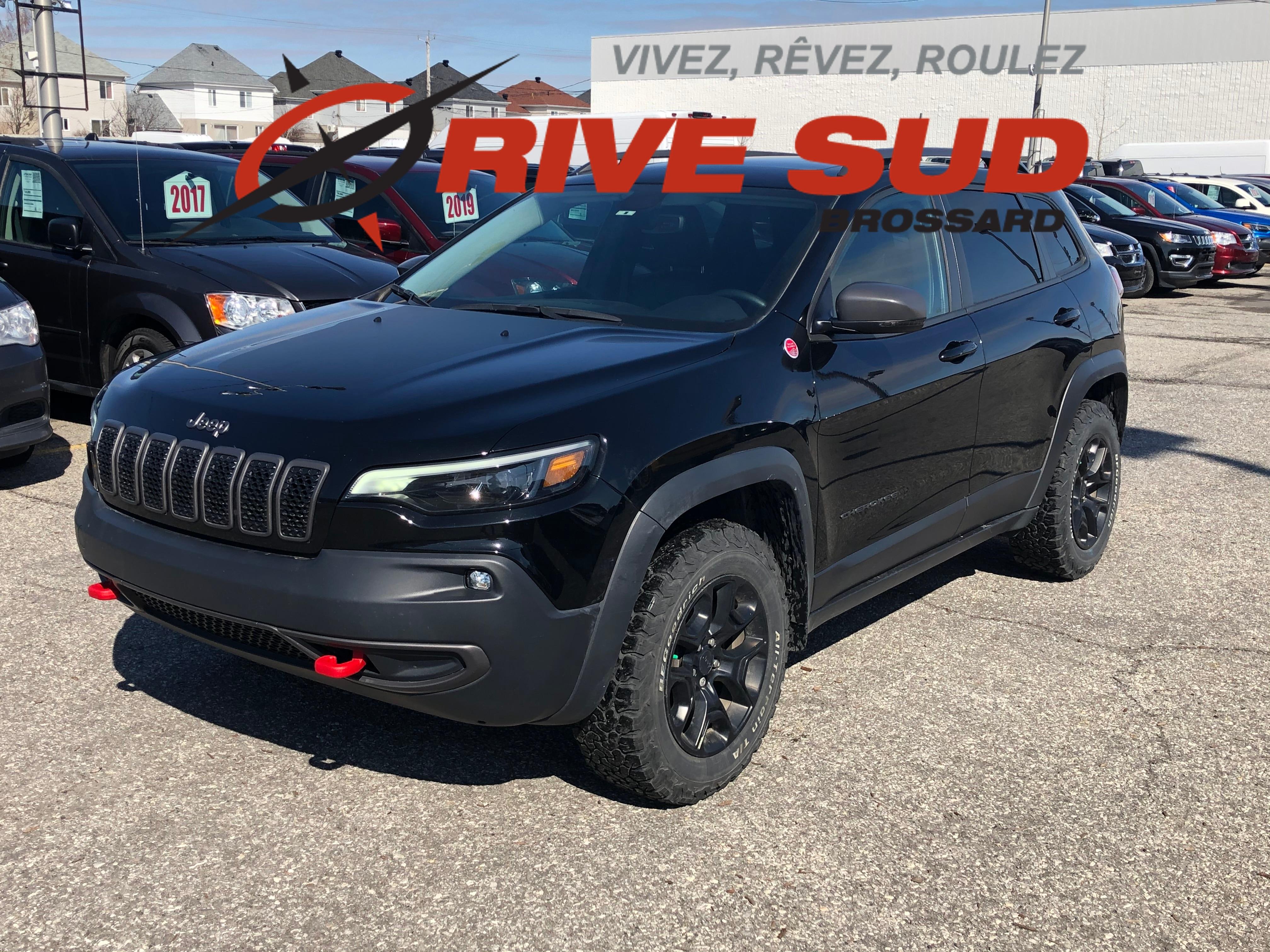 2019 Jeep  Cherokee TRAILHAWK *CUIR*TOIT*GPS*HITCH*