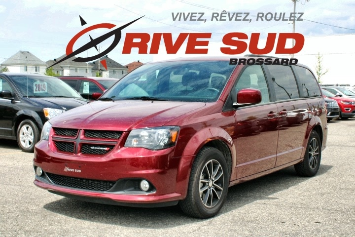 2019 Dodge  Grand Caravan GT *CUIR*DVD*GPS*