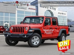 2020 Jeep Gladiator Sport S - Uconnect Truck Crew Cab