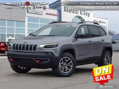 2020 Jeep Cherokee Trailhawk Elite - Leather Seats SUV