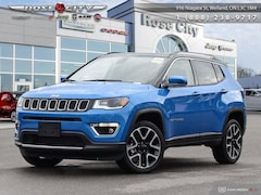 2019 Jeep Compass Limited - Navigation -  Uconnect SUV