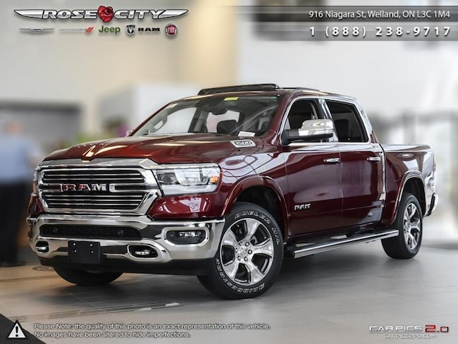 2019 Ram All-New 1500 Laramie - Navigation -  Uconnect Truck Crew Cab