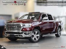 2019 Ram All-New 1500 Laramie - Navigation -  Uconnect Camion cabine Crew